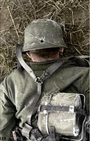 Soldados alemão morto em combate