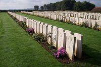 Cemitério em Dieppe - França