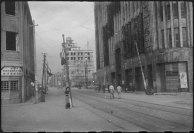 A área da Main Street, em Hiroshima foi relativamente resistente à explosão atômica