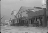 O cinema no distrito de Main Street, em Hiroshima