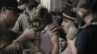 Utilizando máscaras, medo da Grande Guerra