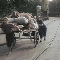 Evacuação de Strasbourg França em setembro 1939.