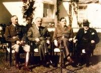 Presidente Roosevelt, General Henri Honoré Giraud, Charles de Gaulle de Winston Churchill