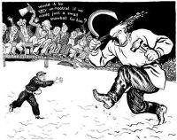 As nações sentaram a assistiram a bravura e a resistência da Finlândia