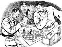 Nos de 1940 e 1941 a Alemanha e Itália começam a dividir os Balcãs, sob o olhar Russo.