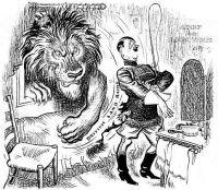 O Leão britânico acabou com os planos de invasão por terra
