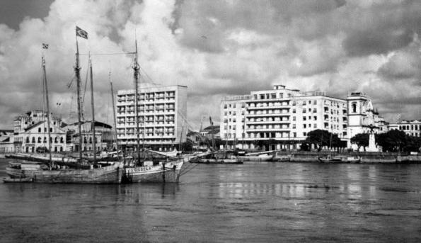 Extenção do Porto do Recife no Rio Capibaribe