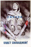Representação da Libertação da Europa.