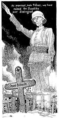 14 - A Alemanha perdeu feio na Batalha de Stalingrado