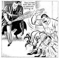 """15 - Stalin, Hitler realmente deu uma """"surra"""" boa em Stalingrado. Os outros Aliados estavam se preparando para bater também."""