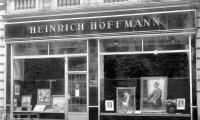 Hitler, Eva Braun encontrou aqui pela primeira vez. Hoffman fotografia estúdio Heinrich em Munique