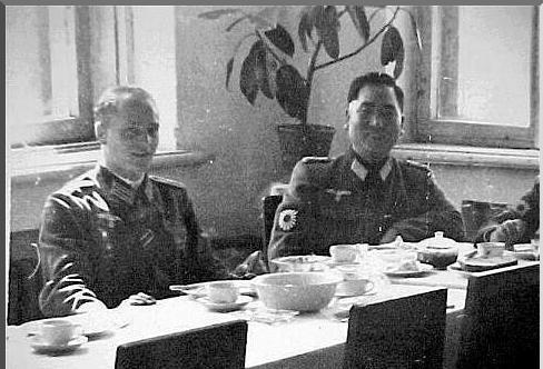 Raridade!! Um Oficial japonês Nazista!!