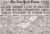 Jornal New York Times do Dia 06 de Junho 1944