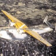 PBM-1 avião Mariner do Esquadrão de Patrulha da Marinha dos EUA VP-56 em vôo de 1940