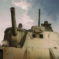 M3 tanque médio e sua tripulação EUA Exército, Fort Knox, Kentucky, Estados Unidos, junho 1942