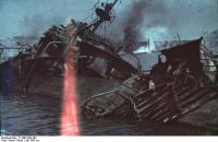 Sewastopol, Hafen, versenkter Zerstörer