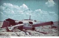 Russland, Sewastopol, zerstörte Festung Maxim Gorki
