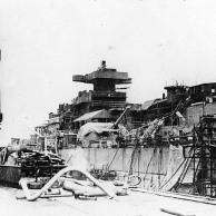 Bismarck armamento em Hamburgo, Alemanha, 10-15 dezembro de 1939, foto 2 de 4