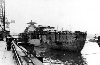 Bismarck armamento em Hamburgo, Alemanha, 10-15 dezembro de 1939, foto 3 de 4