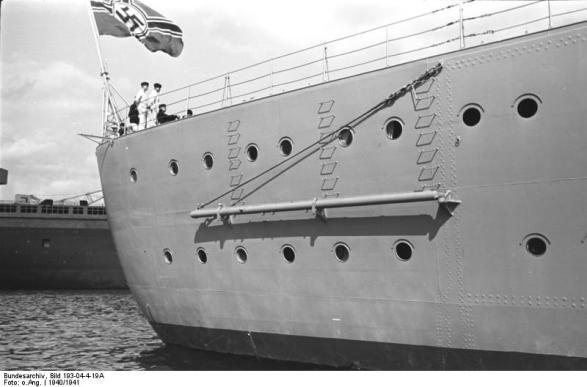 Vista do arco de Bismarck, 1940-1941, foto 1 de 2