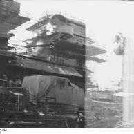 Encouraçado alemão Bismarck, por volta de agosto 1940, foto 1 de 2
