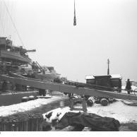 Encouraçado alemão Bismarck no porto, 1939-1941