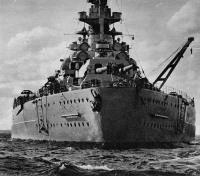 Popa do Bismarck, 1940-1941
