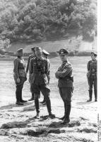 Mosel, Julius v. Bernuth, Erwin Rommel