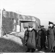Frankreich, Atlantikküste, Erwin Rommel