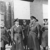 Atlantikwall, Erwin Rommel mit Admiral Ruge