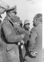 Bei Tobruk, Rommel mit Offizieren