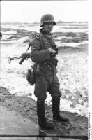 Polen, Trupp deutscher Infanterie imWinter