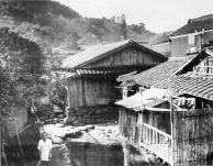 Outro ponto de habitações típicamente japonesas.