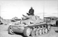 Nordafrika, Panzer II, Kraftfahrzeuge