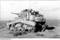 "Nordafrika, amerikanischer Panzer M3 ""Stuart"""