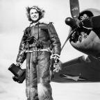 Fotojornalista Margaret Bourke-White em fevereiro de 1943. (AP Photo).