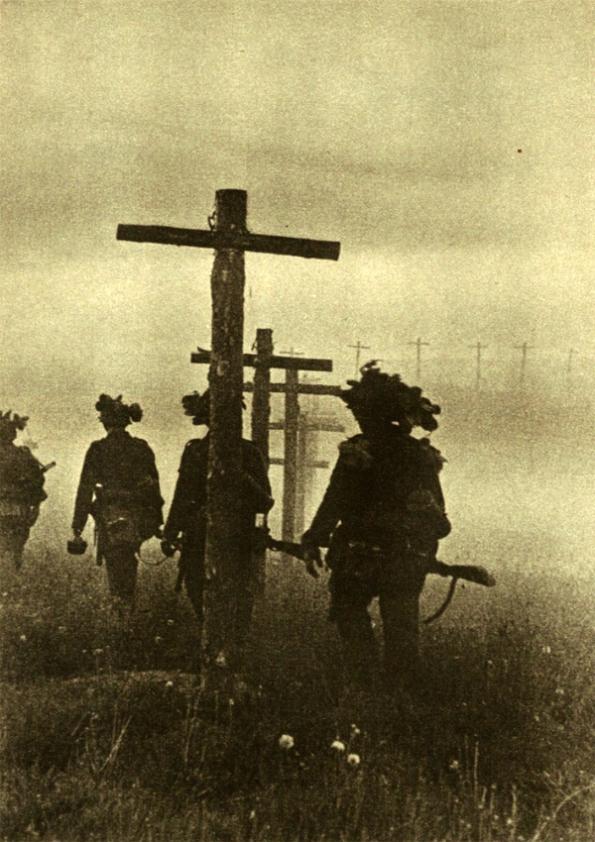 Madrugada de 22 de junho. Cruzando a fronteira da União Soviética