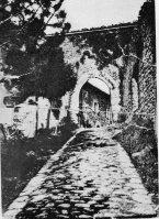 Entrada do Castelo de Montese –1890