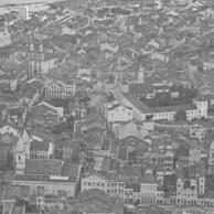 Vista aérea de Recife na década de 40