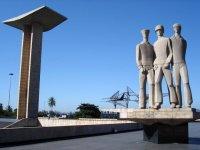 Monumento aos Mortos da Segunda Guerra Mundial no Aterro do Flamengo