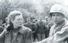 Margarida Hirschaman espiã que fazia as transmições em português incitando os pracinhas da FEB a se renderem.