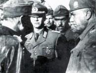 Tenente General Otto Fretter Pico com o General Falconieri