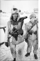 Russland, Soldaten in Winterausrüstung