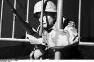Italien, deutscher Fallschirmjäger