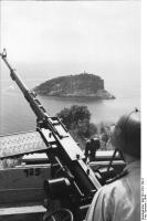 Italien, Küstenbefestigungen, Flak-MG