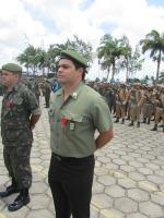 Tenente R/2 Rogério - Presidente da AORE/PE - Agraciado com a Medalha Aspirante Mega