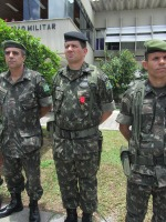 Major André Gustavo - Cmt do 10º Esquadrão de Cavalaria Mecanizada