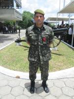 Capitão Neves - 4º BPE - Agraciado com a Aspirante Mega