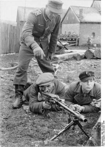 Ausbildung des ostpreußischen Volkssturms