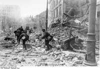 Warschauer Aufstand, Straßenkämpfe